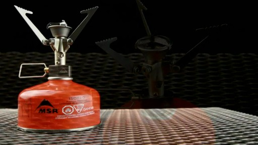 MSR MicroRocket Stove - image 2 from the video