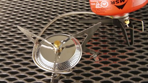 MSR WindPro II Stove - image 4 from the video