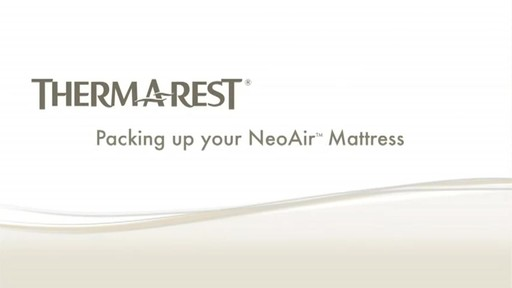 THERM-A-REST NeoAir Sleeping Pads - image 6 from the video