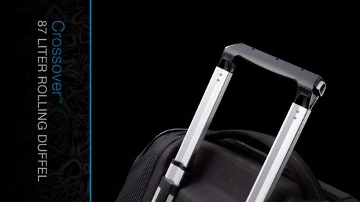 THULE Crossover 87 L Rolling Duffel - image 4 from the video