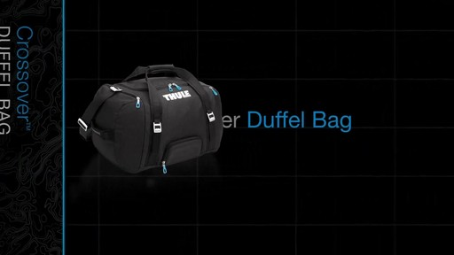 THULE Crossover 70 L Duffel Bag - image 1 from the video