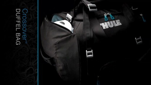 THULE Crossover 70 L Duffel Bag - image 10 from the video