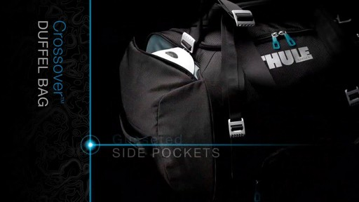 THULE Crossover 70 L Duffel Bag - image 9 from the video