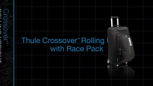 THULE Crossover 60 L Rolling Upright with Daypack - image 1 from the video