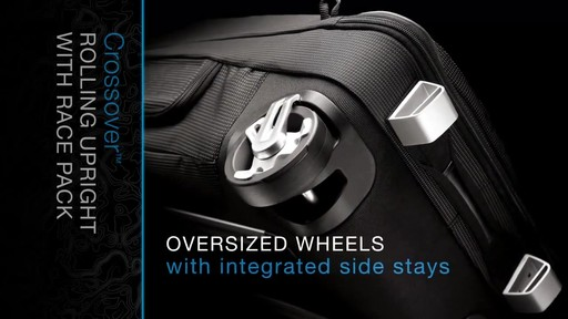 THULE Crossover 60 L Rolling Upright with Daypack - image 6 from the video