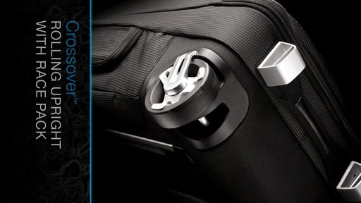 THULE Crossover 60 L Rolling Upright with Daypack - image 7 from the video