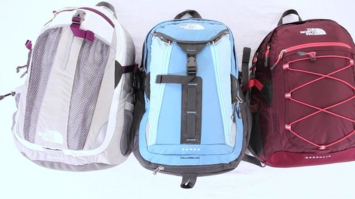 THE NORTH FACE Women's Daypacks - image 2 from the video