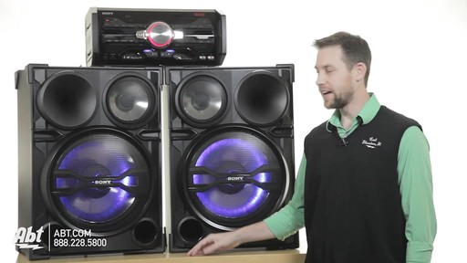 Review of the Sony Black 2000 Watt DJ Shake Sound System - LBT-SH2000 - image 1 from the video