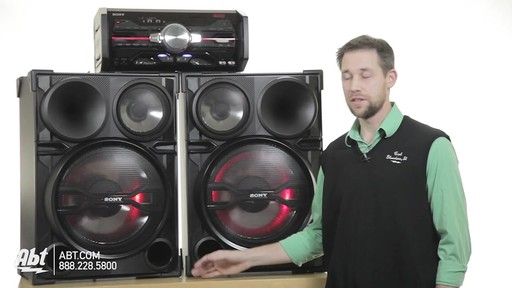 Review of the Sony Black 2000 Watt DJ Shake Sound System - LBT-SH2000 - image 2 from the video