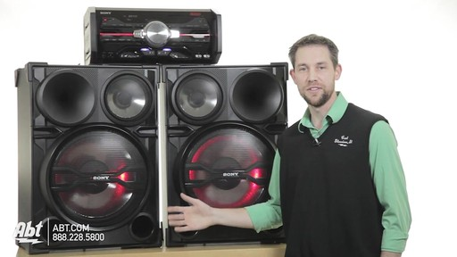 Review of the Sony Black 2000 Watt DJ Shake Sound System - LBT-SH2000 - image 7 from the video