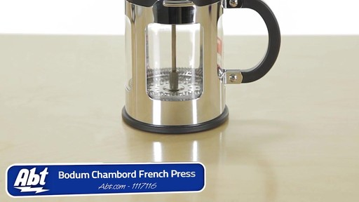 How to Use a Bodum Chambord 4 Cup French Press Coffee Maker - 1117116 ? Electronics and ...