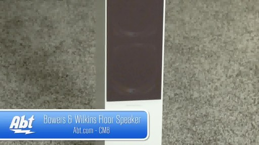 Bowers And Wilkins Speakers Bowers Wilkins Cm8 Floor