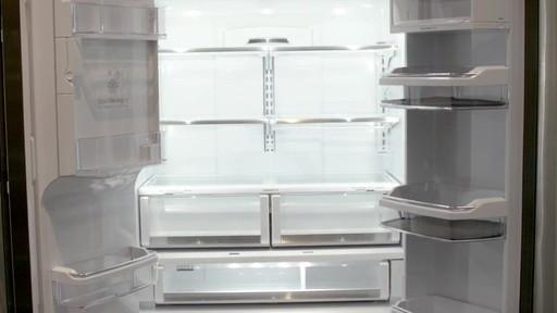 Counter Depth Refrigeratore Ge Cafe French Door Refrigerator