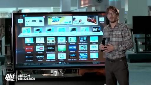 Panasonic 65-inch 1080P 3D Plasma HDTV - TC-P65ZT60 : Panasonic at Abt Electronics - image 10 from the video
