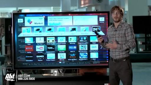 Panasonic 65-inch 1080P 3D Plasma HDTV - TC-P65ZT60 : Panasonic at Abt Electronics - image 3 from the video