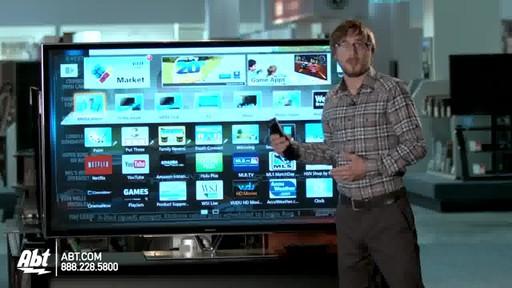 Panasonic 65-inch 1080P 3D Plasma HDTV - TC-P65ZT60 : Panasonic at Abt Electronics - image 4 from the video