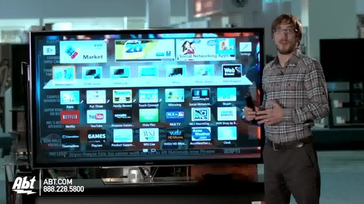 Panasonic 65-inch 1080P 3D Plasma HDTV - TC-P65ZT60 : Panasonic at Abt Electronics - image 5 from the video