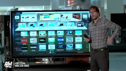 Panasonic 65-inch 1080P 3D Plasma HDTV - TC-P65ZT60 : Panasonic at Abt Electronics - image 6 from the video