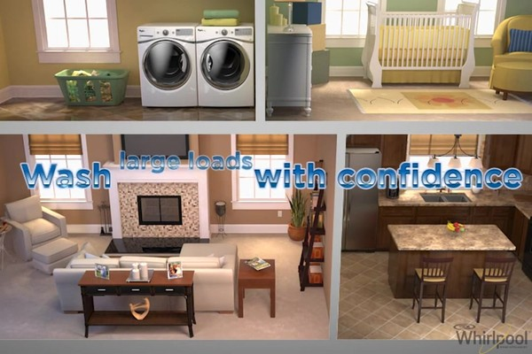 Whirlpool - Quiet Spin 360 Technology - image 9 from the video