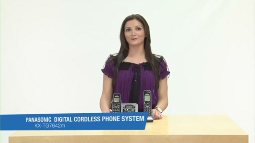 Review of Panasonic Black Link-To-Cell Bluetooth Digital Cordless Phone System - KX-TG7642M - image 1 from the video