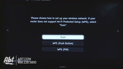 How to Connect Your Sony TV to the Internet - image 3 from the video