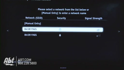 How to Connect Your Sony TV to the Internet - image 4 from the video