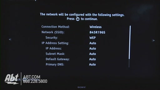 How to Connect Your Sony TV to the Internet - image 7 from the video