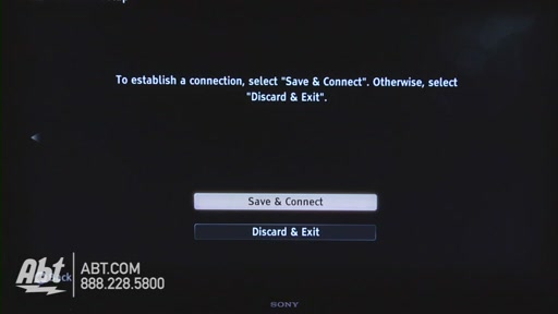 How to Connect Your Sony TV to the Internet - image 8 from the video