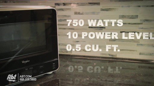Countertop Microwave 13 Deep : Overview of the Whirlpool Countertop Microwave WMC20005 - image 3 from ...