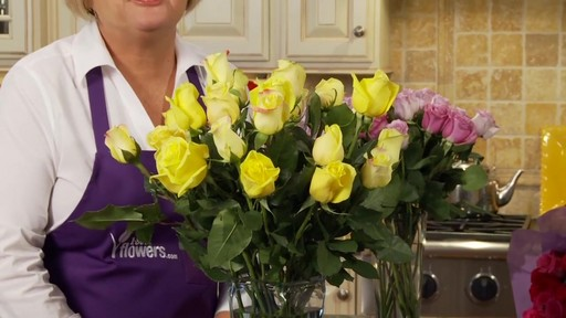 Passion for Yellow Roses - 95689 - 1-800-FLOWERS.COM - image 9 from the video