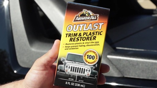 Armor All Outlast Trim and Plastic Restorer  - image 10 from the video