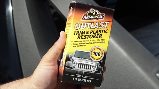 Armor All Outlast Trim and Plastic Restorer  - image 3 from the video