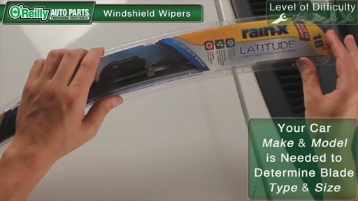 O'Reilly Auto Parts Wiper Blade Replacement - image 3 from the video