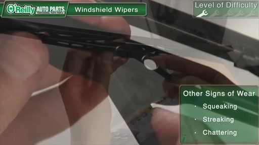 O'Reilly Auto Parts Wiper Blade Replacement - image 4 from the video