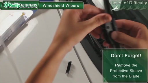 O'Reilly Auto Parts Wiper Blade Replacement - image 6 from the video