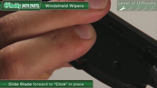 O'Reilly Auto Parts Wiper Blade Replacement - image 7 from the video