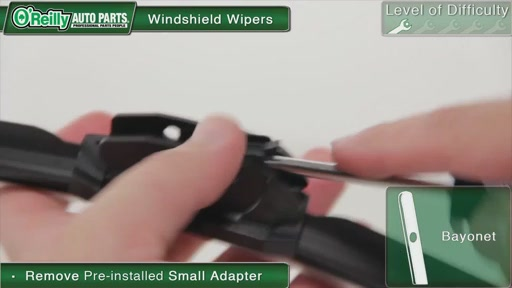 O'Reilly Auto Parts Wiper Blade Replacement - image 8 from the video