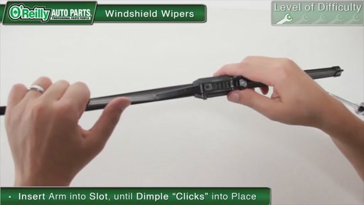 O'Reilly Auto Parts Wiper Blade Replacement - image 9 from the video