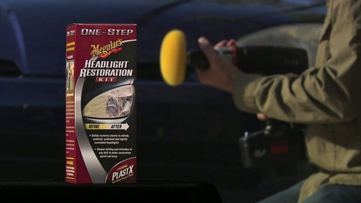 Meguiar's Headlight Restoration Kit and Demonstration.mov - image 5 from the video