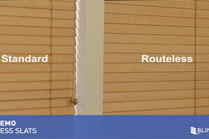 Routless Option For Wood And Faux Wood Blinds Quickdemo