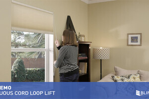 Continuous Cord Loop Lift For Cellular Shades Quickdemo
