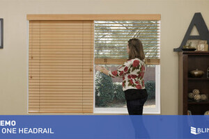 2 On 1 Headrail For Wood Blinds Quickdemo
