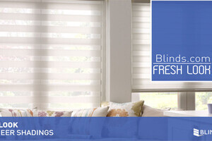 Flat Sheer Shadings From Blinds Com Fresh Look 187 Sheer