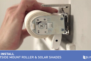 How To Install Bali Cordless Solar And Roller Shades