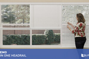3 On 1 Headrail For Faux Wood Blinds Quickdemo