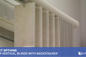 Levolor Vertical Blinds With Backstacker