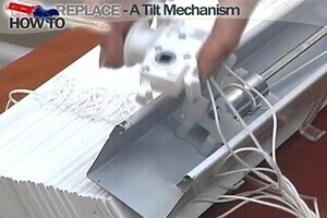 How To Fix Blinds Replace A Tilt Mechanism